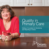 Front cover of the caregiver distress report: Quality in Primary Care