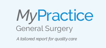 Wordmark for MyPractice general surgery report
